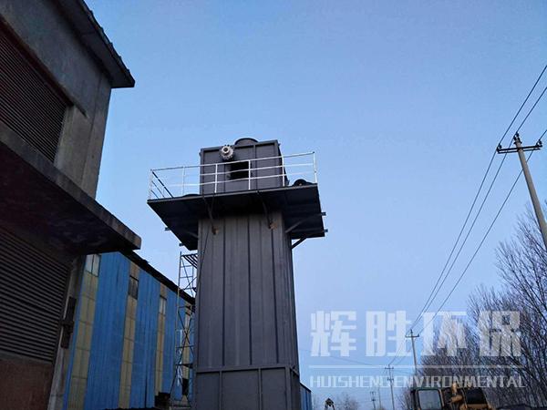 (1)湿式电除尘器本体      湿式电除尘器本体采用圆柱形结构,内部设有